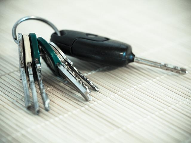 kluczki do auta